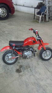 1979 honda z50 rare restored runs great