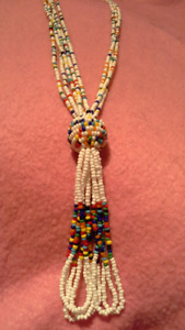 10 costume jewelry necklaces. $5 each. see pictures