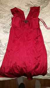 Bcbg xsmall red dress for sale.