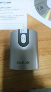 SanDisk 5-in-1 card reader
