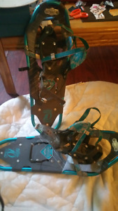 New Snowshoes . Good Condition .