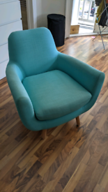 Seablue armchair