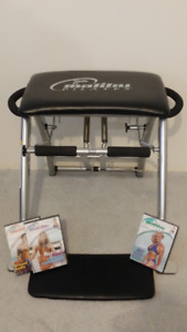 Pilates workout chair exercise equipment