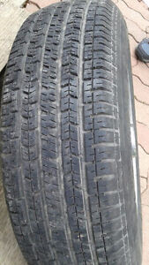 4 ALL SEASON RADIAL TIRES AND RIMS