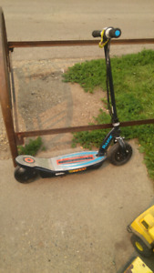 Electric scooter. New
