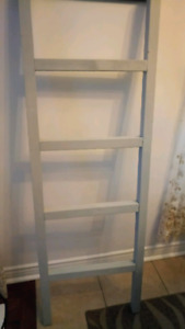 Antique gray Blanket ladder