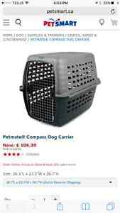 Petmate Compass dog kennel - $45.00 (large)