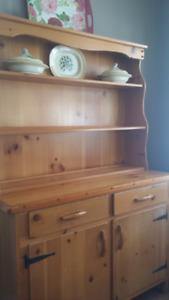 Pine Cabinet.  Great storage  Pioneer Muskoka handcraft.