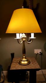 Beautiful warm glow candle style lamp