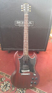 2007 Gibson SG faded cherry electric guitar