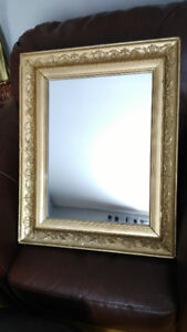 Beautiful 1930s Antique Wall Mirror