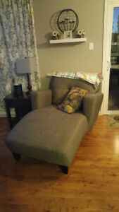 Gray Couch and Lounger