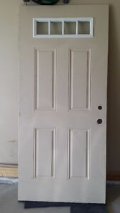 Insulated Hollow Core Entry Exterior Door