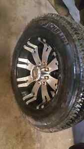 Rims and tires 275 65 20