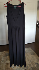 Long black dress by Ralph Lauren