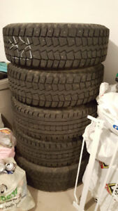 17in F-150 Winter Tires on Steel Rims ($40 O.B.O)