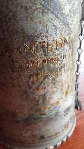 WWII Oldham battery lantern in beautiful condition