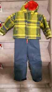 4T columbia Snow suit