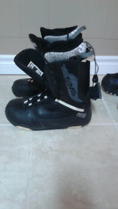 Snowboard Boots Mens Sims Size 10