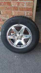 Jeep liberty rims and winter tires
