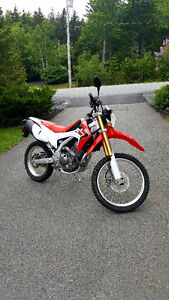 Crf250l in excellent condition
