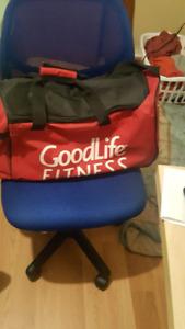 GoodLIfe Fitness gym bag
