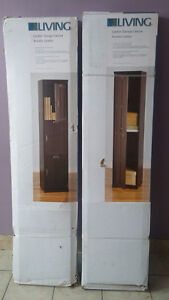 Lyndon Storage Cabinet and Hanging Rack for sale