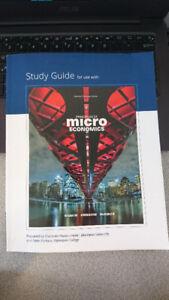 books (Marine Biology, Microeconomics study guide, Sociology)