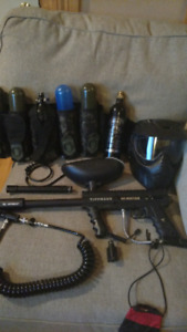 Paintball gun with lots of upgrades