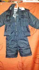 Snowsuits and boots