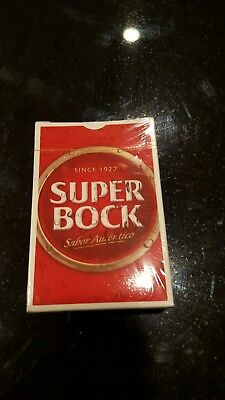 Super Bock collectible playing cards NEW sealed box, Rare