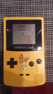 Gameboy color + 9 jeux