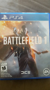 Battlefield1 for ps4