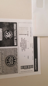 RAPTORS TICKETS - Sunday   6pm  - Portland TrailBlazers