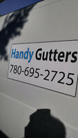 Gutters Cleaning & Overhang Repairs