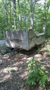 Utility trailer as-is for parts/rebuild