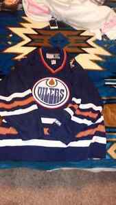 Oilers Jersey authentic adult xl
