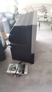 46 inch tv and DVD player