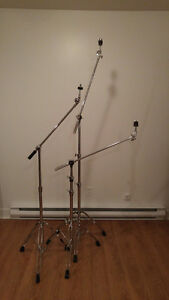Pearl/Westbury Cymbal Boom Stands/Trépieds pour cymbales