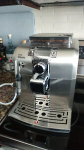 Saeco Syntia Super Automatic Espresso Machine - Stainless Steel