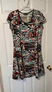 Native art Dress - XL