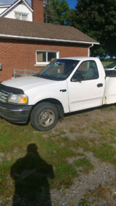 2004 Ford F150 Truck For Parts/Scrap 5th wheel trailer tailgate