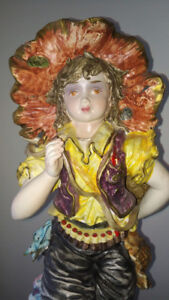 Porcelain Statues- Made By Capodimonte