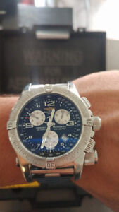 Men's Breitling Emergency Mission Chronograph Watch