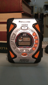 Panasonic shock wave-stereo radio cassette player RQ-SW45V