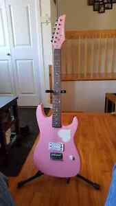 Rocker Music tools Electric Guitar and stand