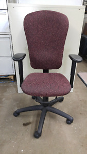 ADJUSTABLE UPHOLSTERED HIGH BACK OFFICE CHAIR
