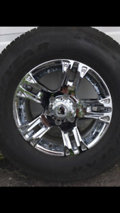 "17"" Chrome Rims"