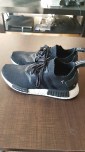 Adidas NMD Japan Black/White sz 8.5 mens 8/10 condition