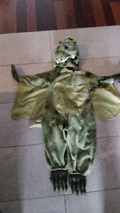Halloween costume Dragon vert / Green dragon size 18m-24 months